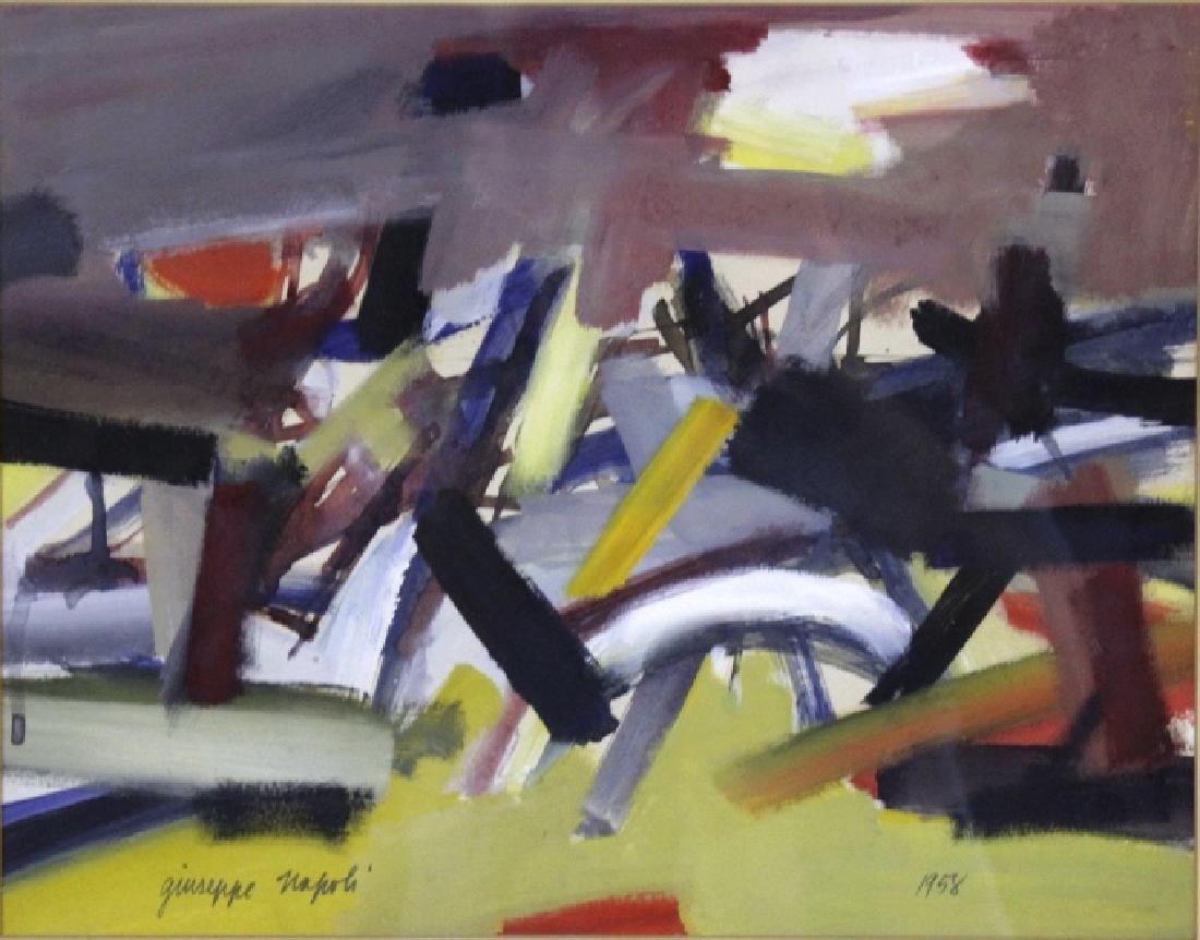 GIUSEPPE NAPOLI New York School Abstract Painting