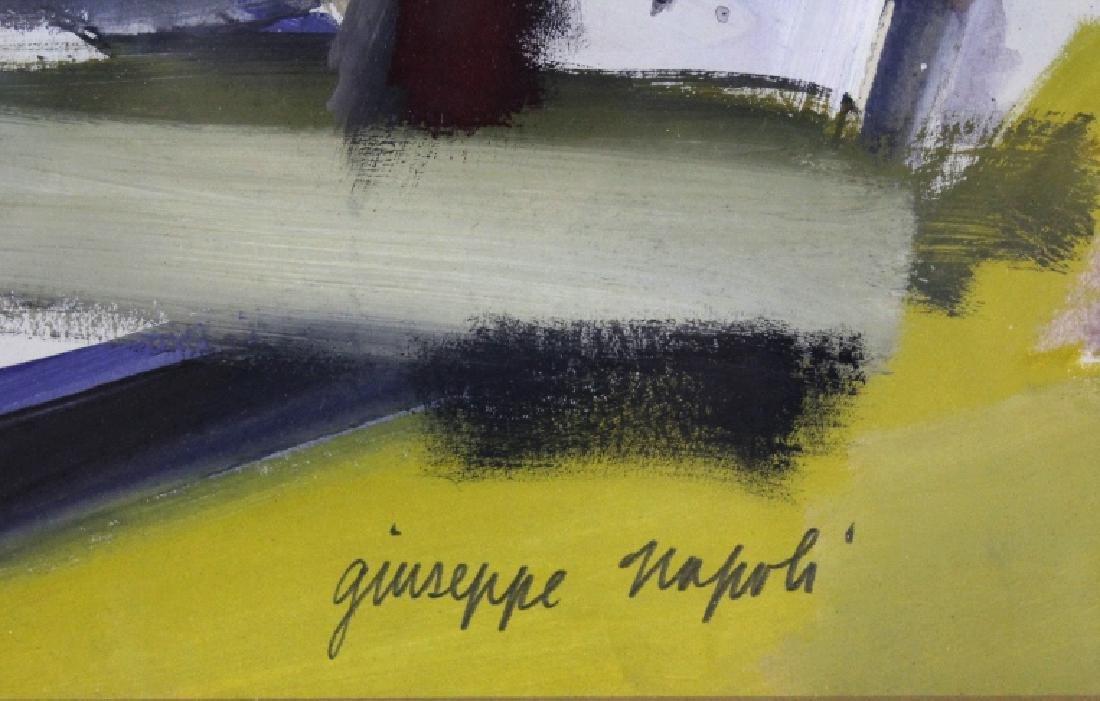 GIUSEPPE NAPOLI New York School Abstract Painting - 3