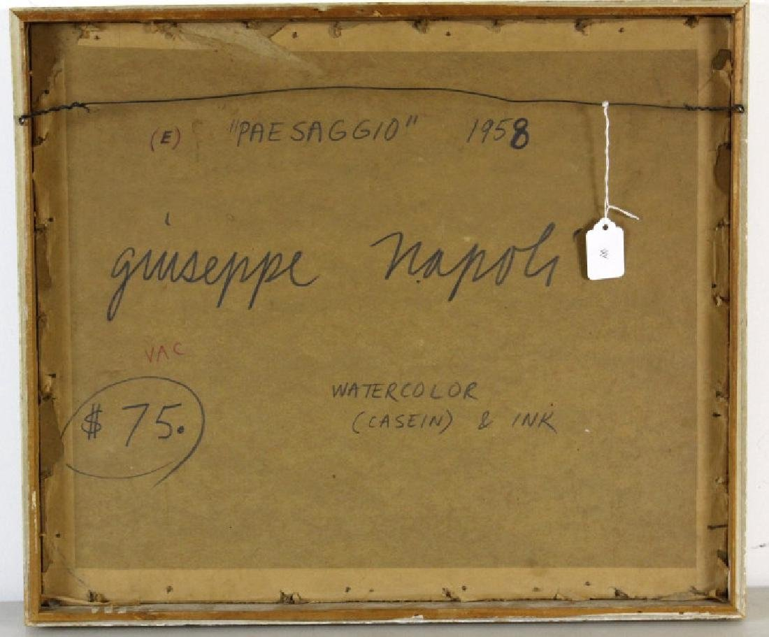 GIUSEPPE NAPOLI New York School Abstract Painting - 5