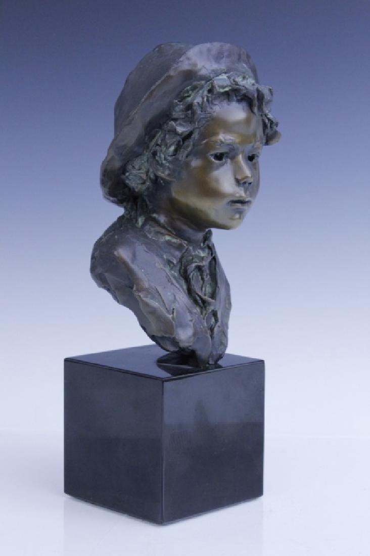 GLENNA GOODACRE Irish Waif Boy Bronze Sculpture - 2