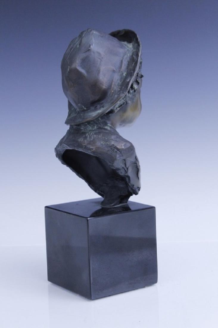 GLENNA GOODACRE Irish Waif Boy Bronze Sculpture - 3