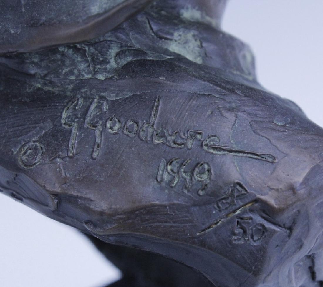 GLENNA GOODACRE Irish Waif Boy Bronze Sculpture - 4
