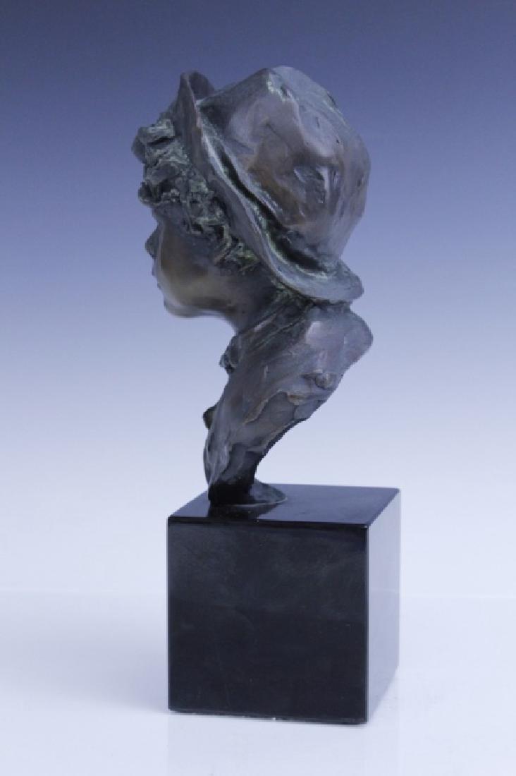 GLENNA GOODACRE Irish Waif Boy Bronze Sculpture - 5