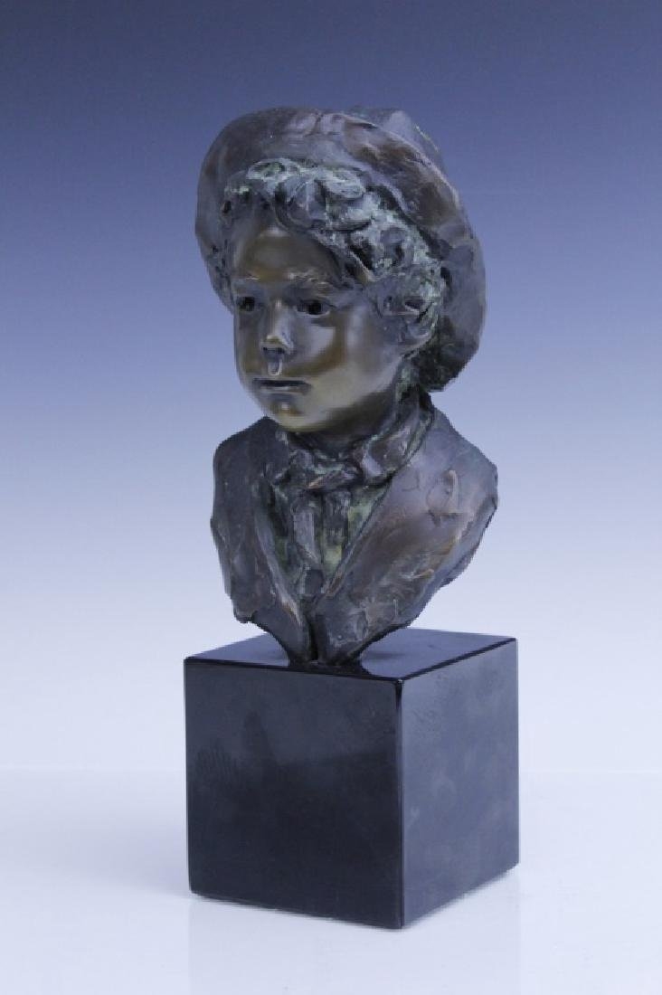 GLENNA GOODACRE Irish Waif Boy Bronze Sculpture - 6