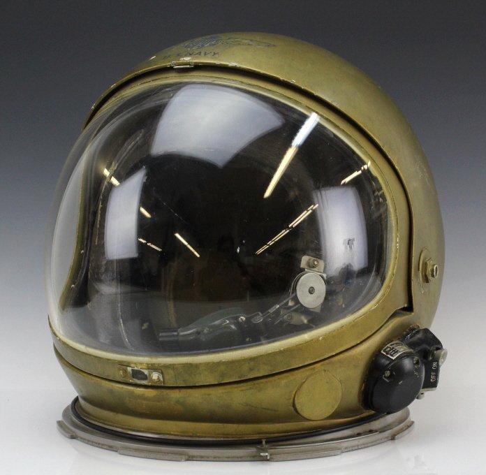 Early Pre Mercury Prototype Space Astronaut Helmet