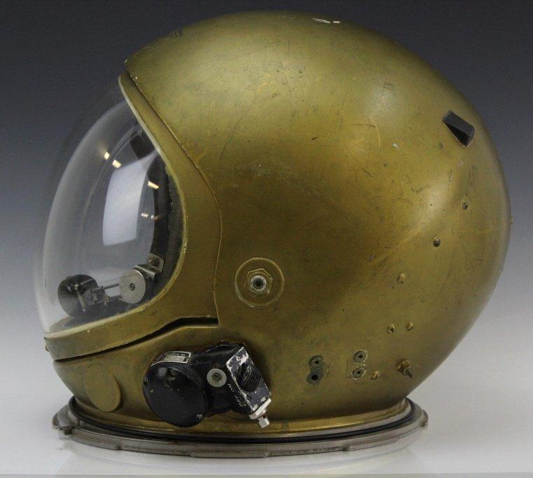 Early Pre Mercury Prototype Space Astronaut Helmet - 2