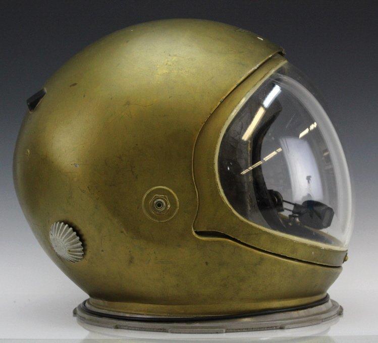 Early Pre Mercury Prototype Space Astronaut Helmet - 4