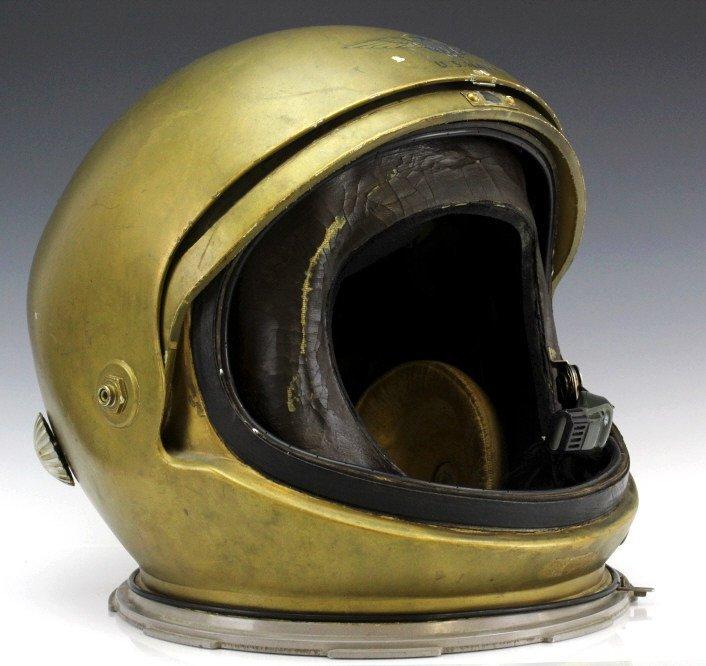 Early Pre Mercury Prototype Space Astronaut Helmet - 5