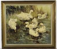 ALEX FOLLAK Russian Impressionist Oil Painting