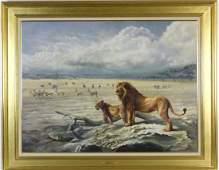 ARTHUR SPENCER ROBERTS African Landscape Painting