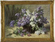 EUGENE CLAUDE French Impressionist Oil Painting
