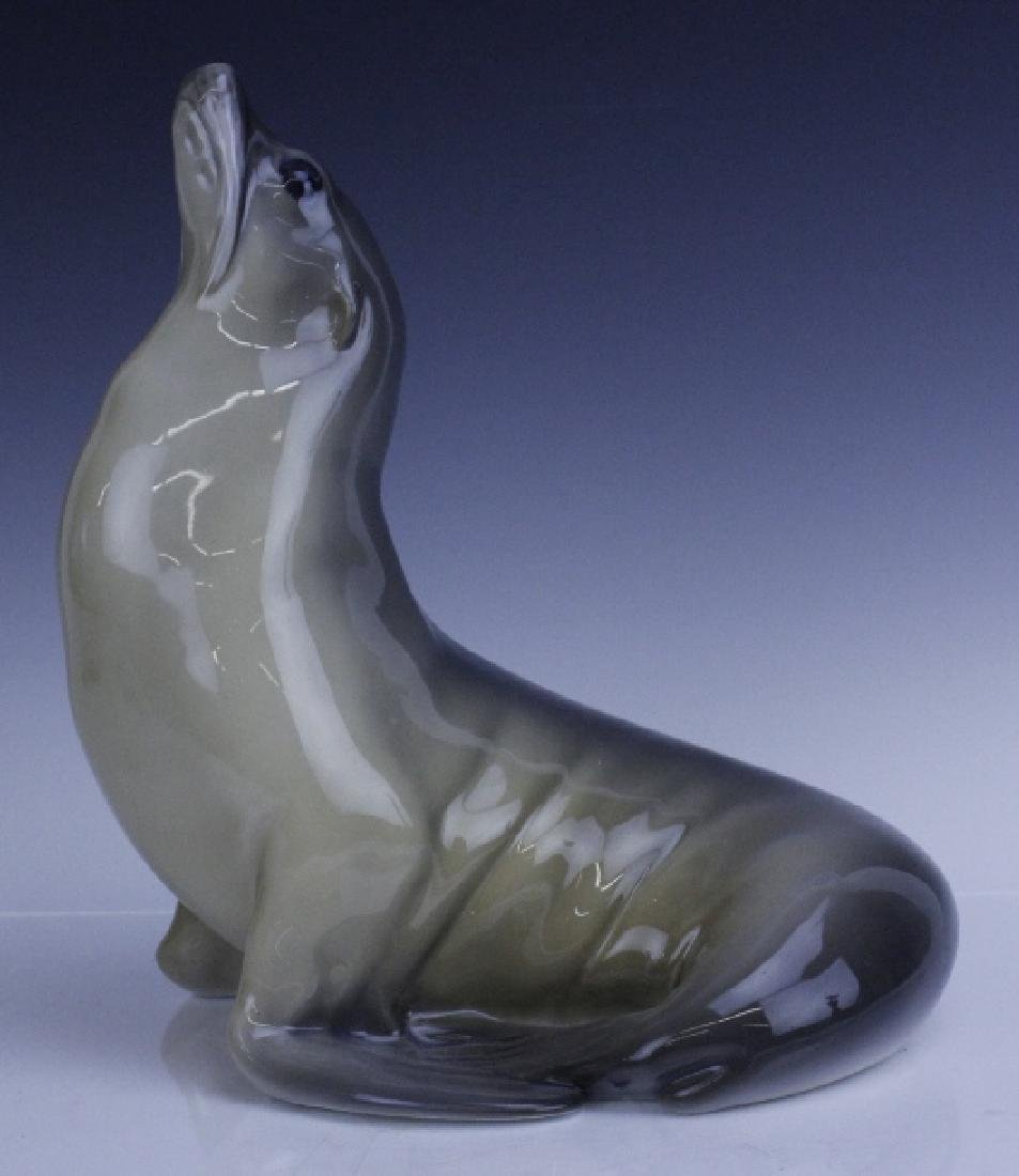 Large Royal Copenhagen Seal Figurine #253