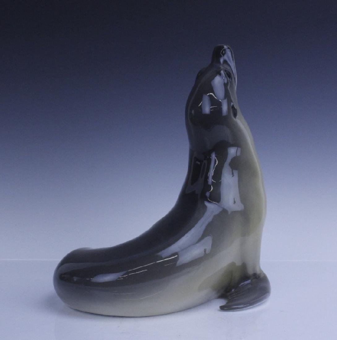 Large Royal Copenhagen Seal Figurine #253 - 4