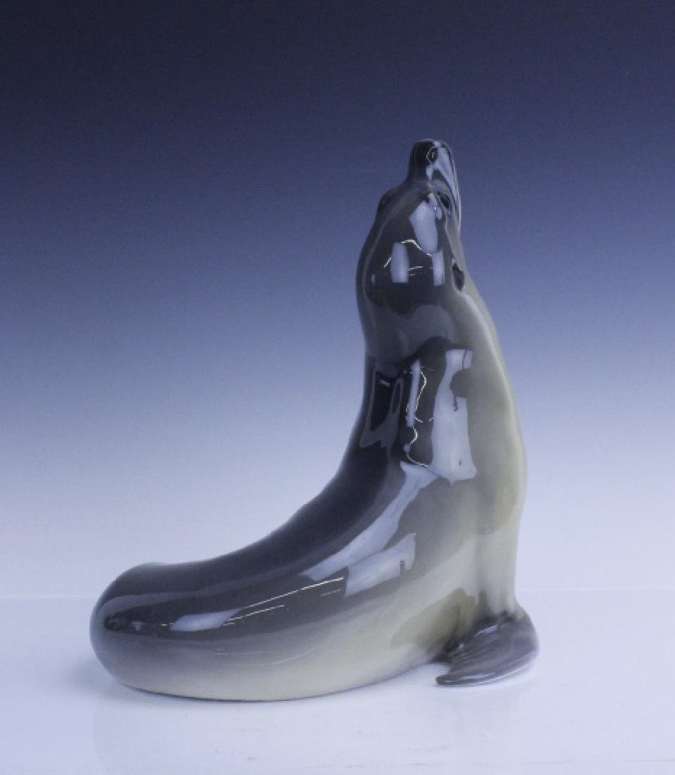 Large Royal Copenhagen Seal Figurine #253 - 5