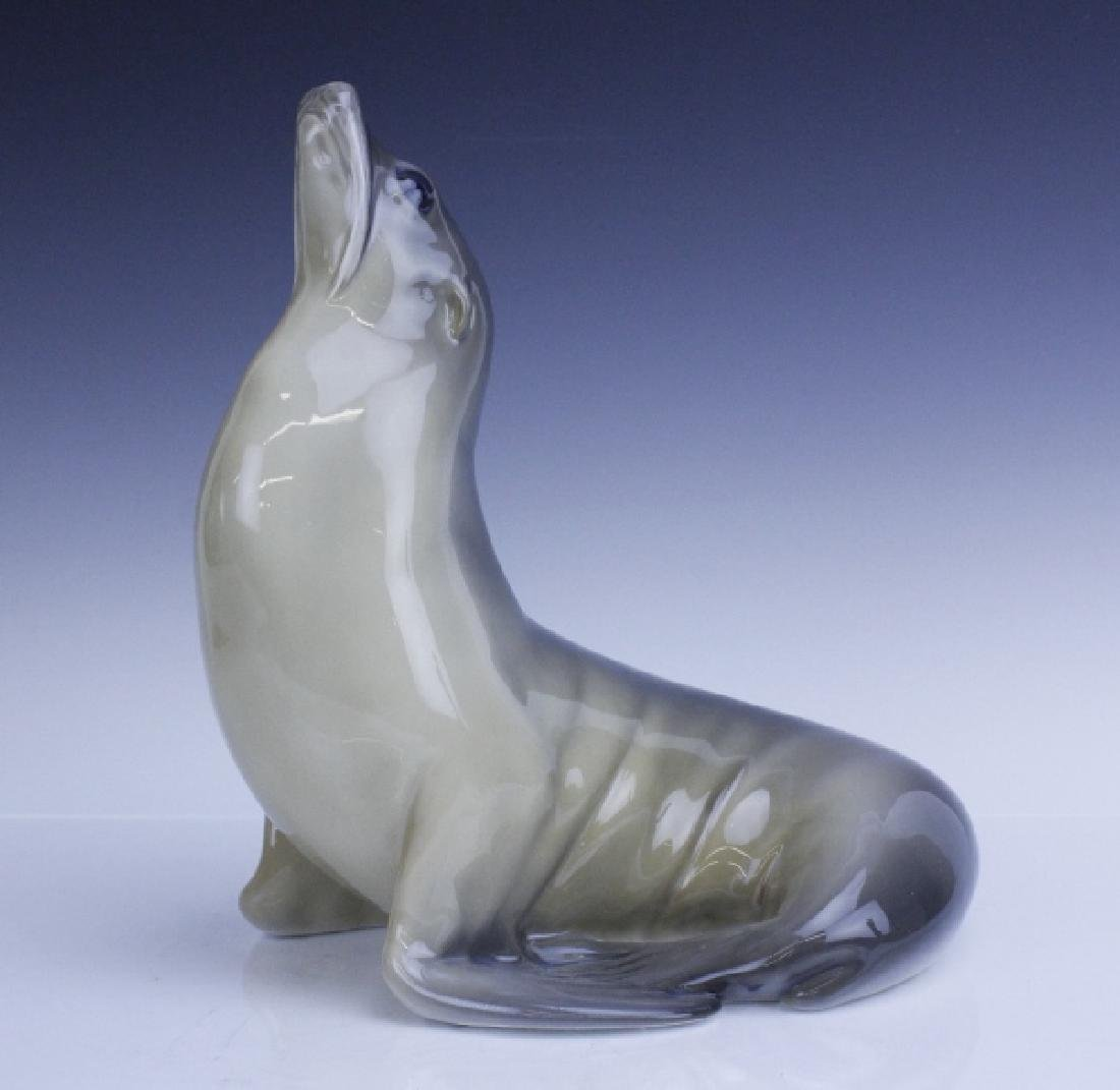 Large Royal Copenhagen Seal Figurine #253 - 8
