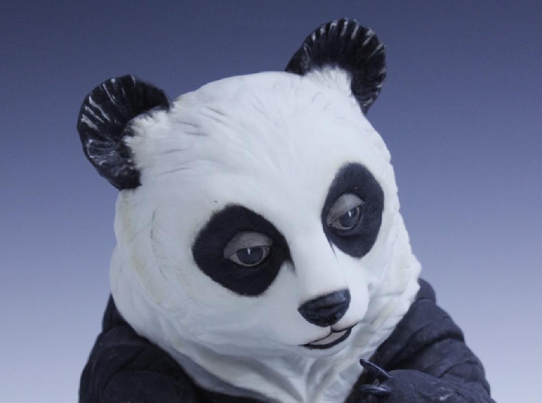 BOEHM Seated Panda Bear Cub Porcelain Figurine - 5