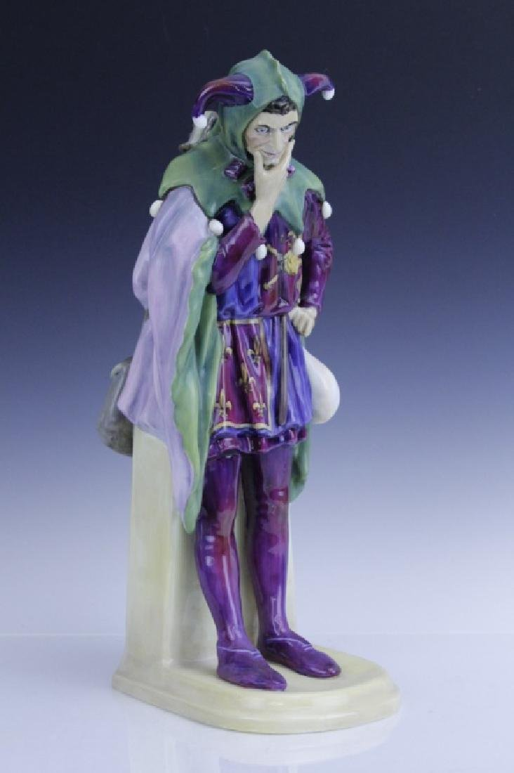 Large Royal Doulton JACK POINT Jester Statue HN2080