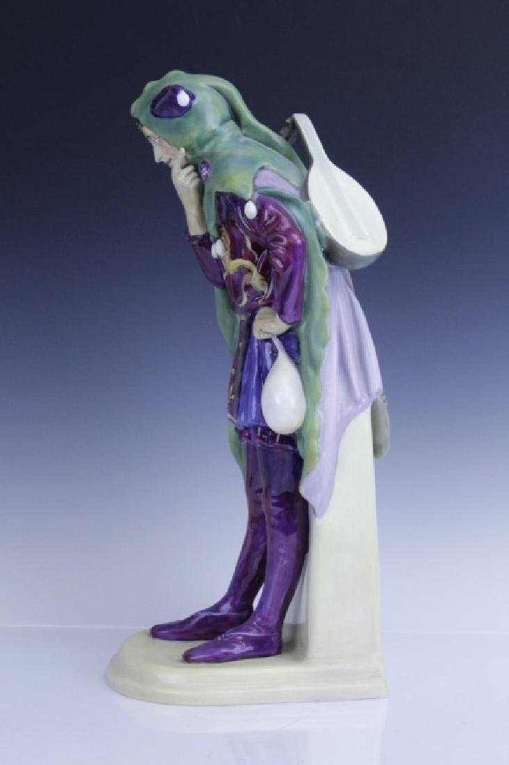 Large Royal Doulton JACK POINT Jester Statue HN2080 - 3