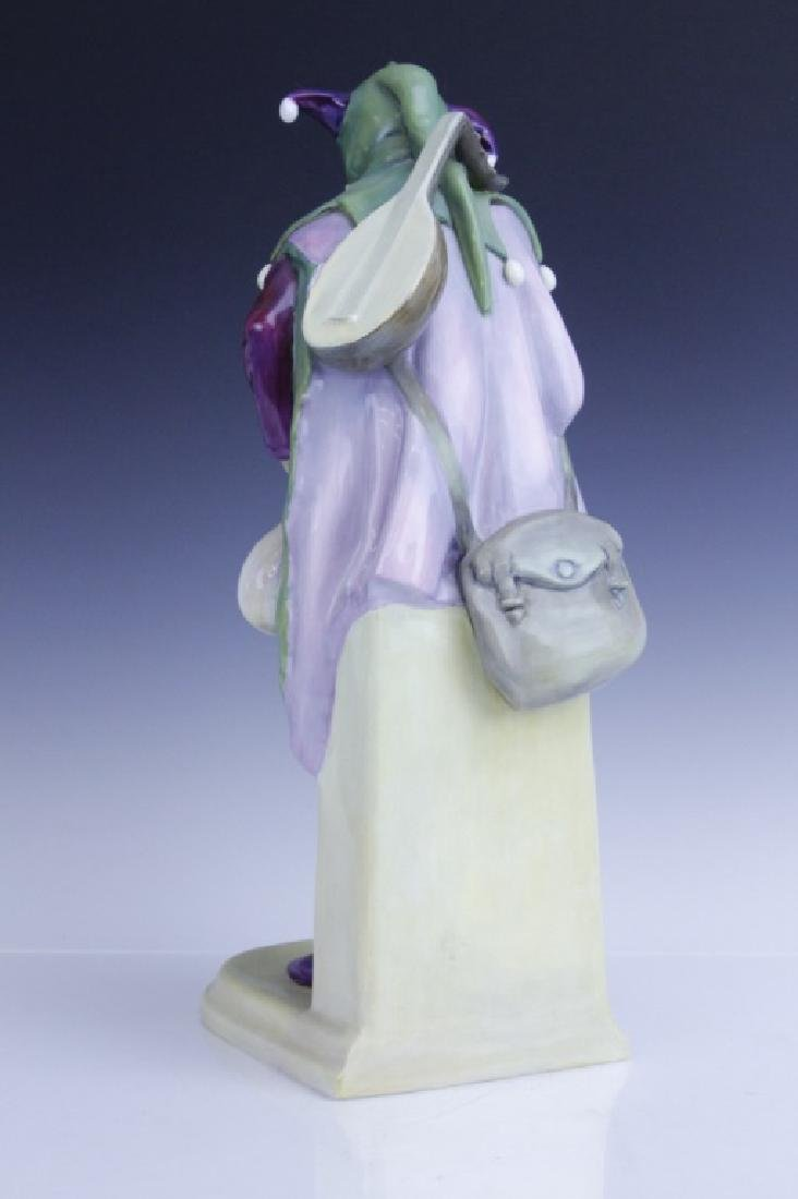 Large Royal Doulton JACK POINT Jester Statue HN2080 - 4