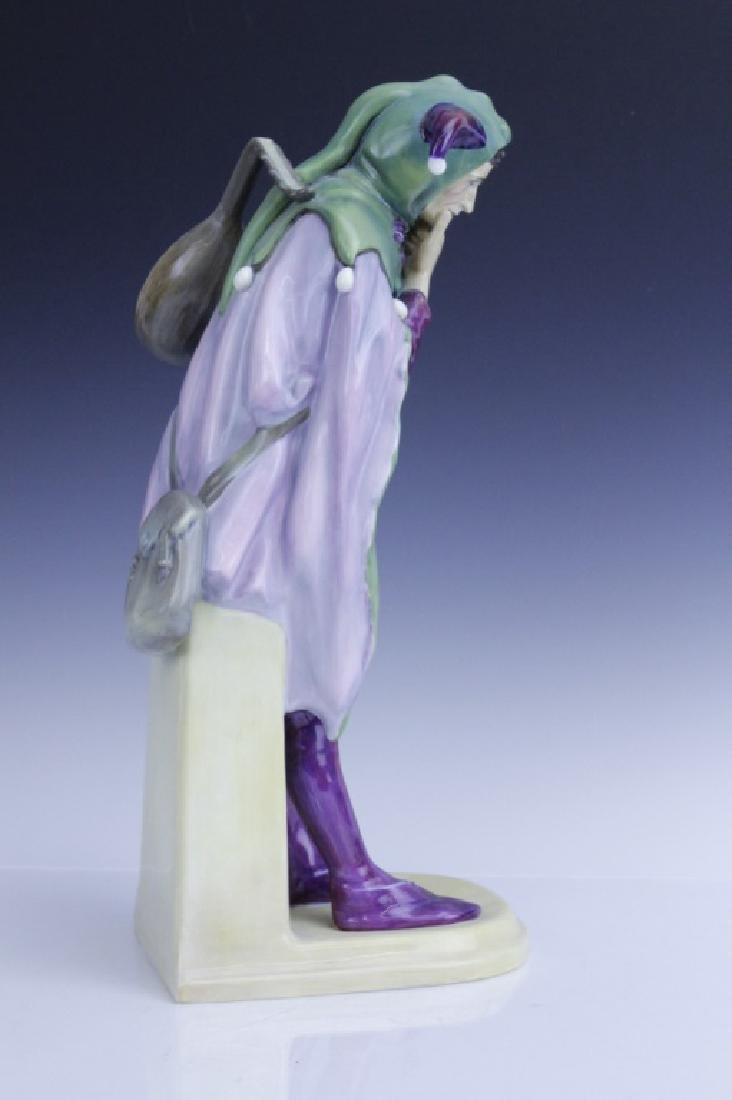 Large Royal Doulton JACK POINT Jester Statue HN2080 - 5