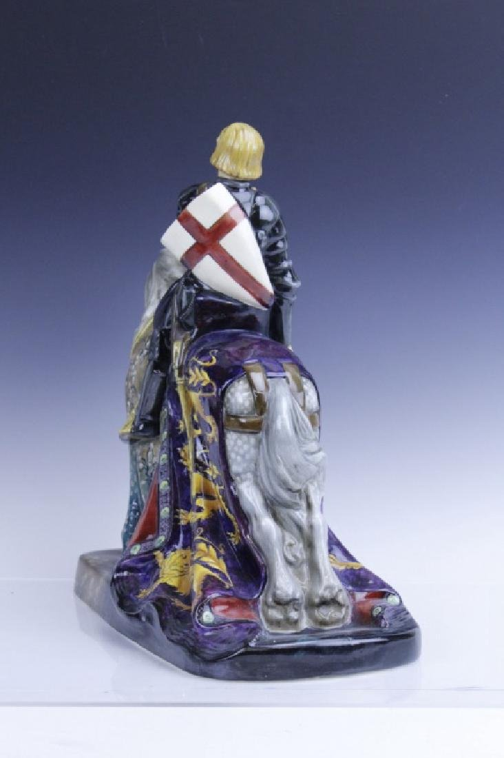 Large Royal Doulton ST GEORGE HN2067 Figurine - 5