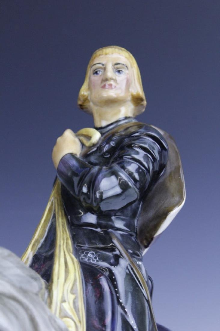 Large Royal Doulton ST GEORGE HN2067 Figurine - 7