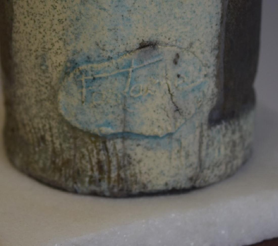 Mid Century Studio Art Pottery African Figure - 2