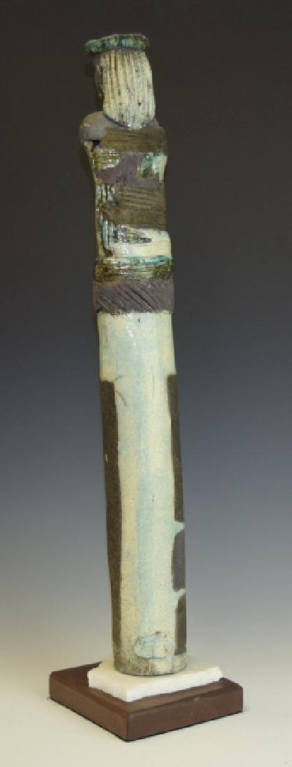 Mid Century Studio Art Pottery African Figure - 3