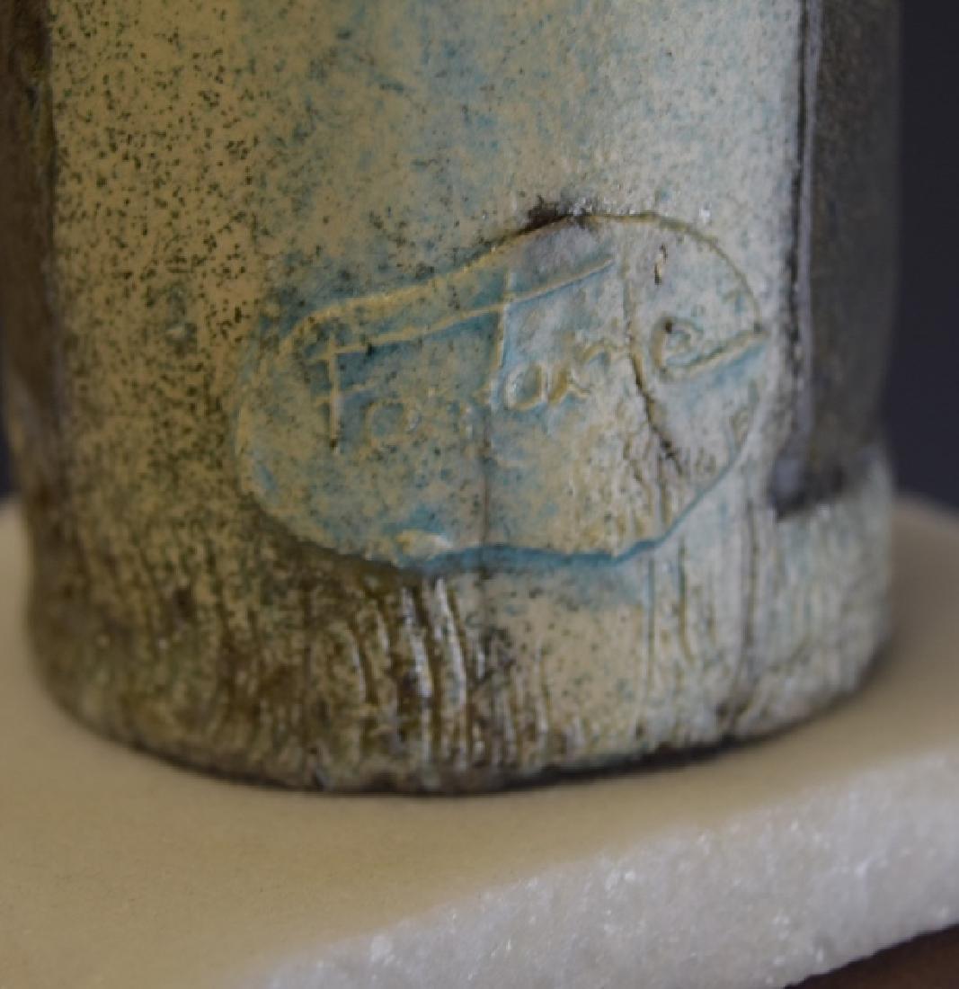Mid Century Studio Art Pottery African Figure - 6