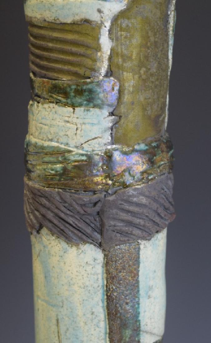 Mid Century Studio Art Pottery African Figure - 8