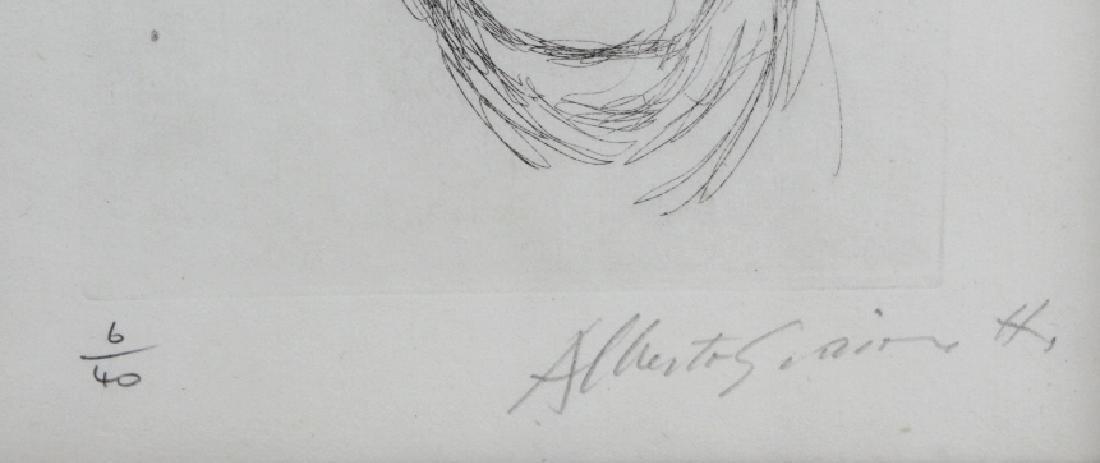 ALBERTO GIACOMETTI Iliazd L/E Portrait Etching - 3