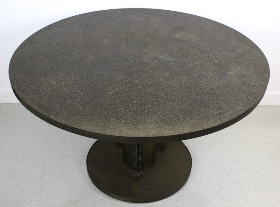 Philip & Kelvin Laverne Etruscan Dining Game Table - 8
