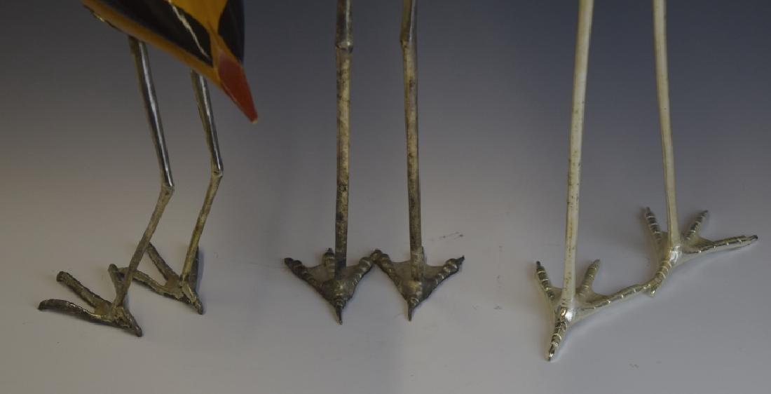 3 De Stijl Italian Carved Wood Bird Sculptures - 7