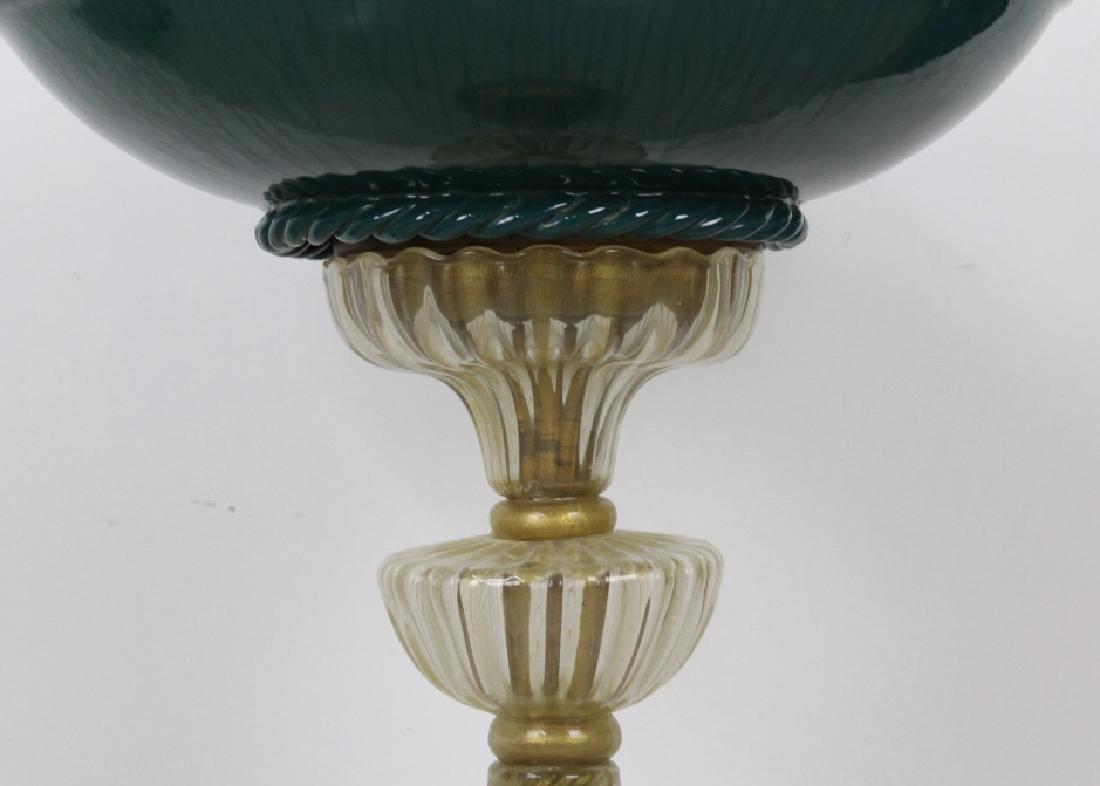 Seguso Murano Italian Art Glass Figural Fountain - 5
