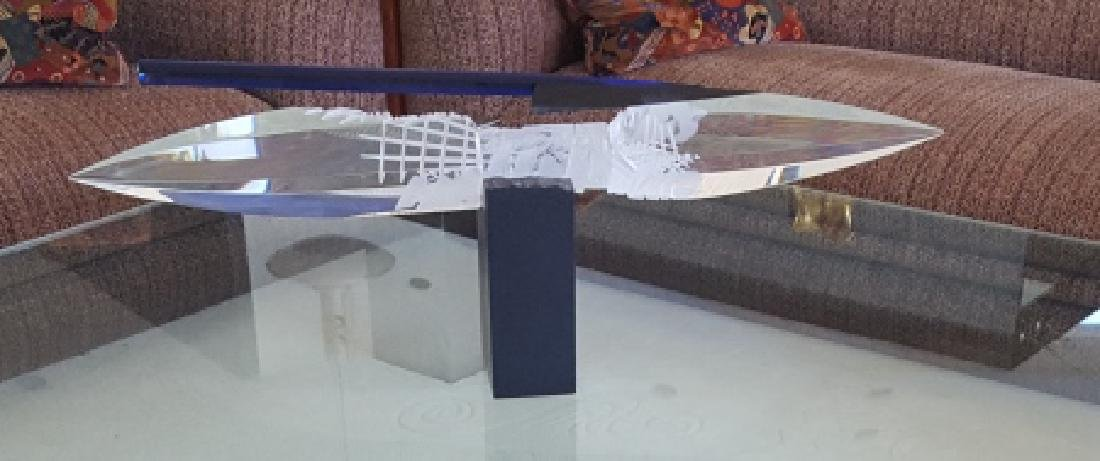 Large Martin Rosol Studio Art Glass Sculpture RARE