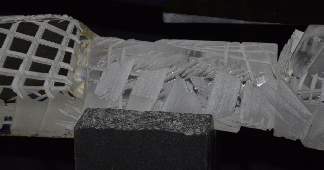 Large Martin Rosol Studio Art Glass Sculpture RARE - 3