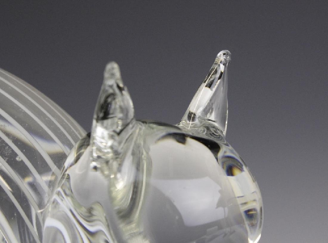 Zanetti Signed Murano Art Glass Cat Sculpture - 2