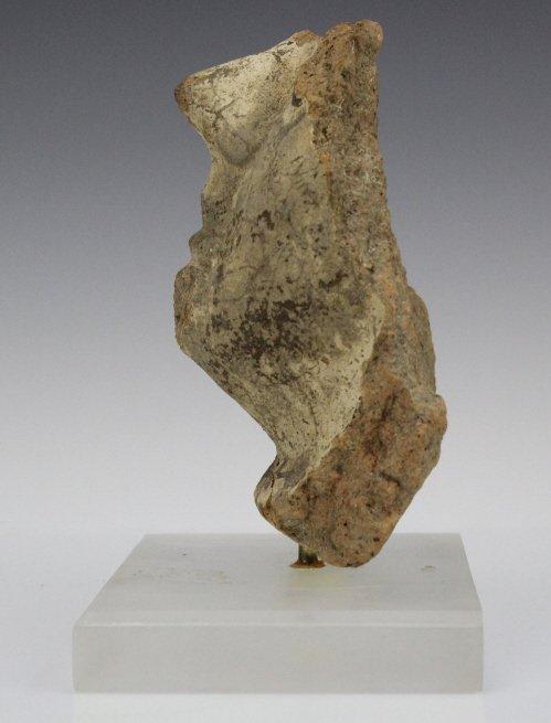 Ancient Etrsucan Terracotta Antefix Mask Fragment - 6