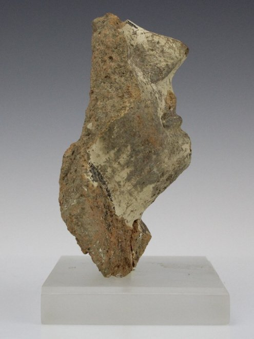 Ancient Etrsucan Terracotta Antefix Mask Fragment - 7