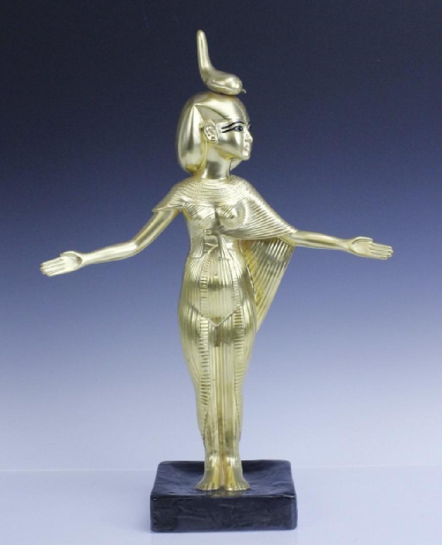 BOEHM Porcelain Egyptian Goddess Selkel Figurine