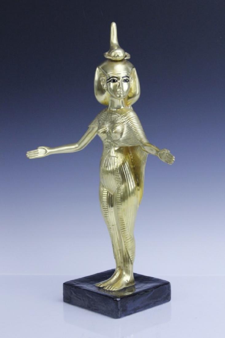BOEHM Porcelain Egyptian Goddess Selkel Figurine - 2