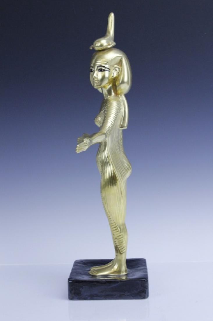 BOEHM Porcelain Egyptian Goddess Selkel Figurine - 3