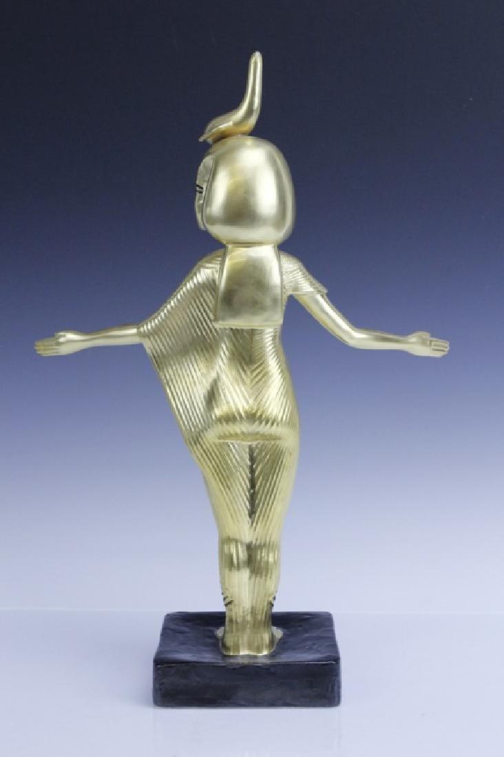 BOEHM Porcelain Egyptian Goddess Selkel Figurine - 4
