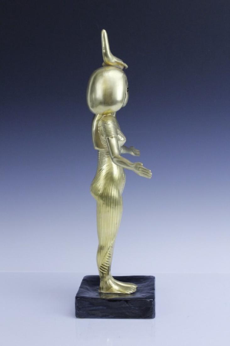 BOEHM Porcelain Egyptian Goddess Selkel Figurine - 5