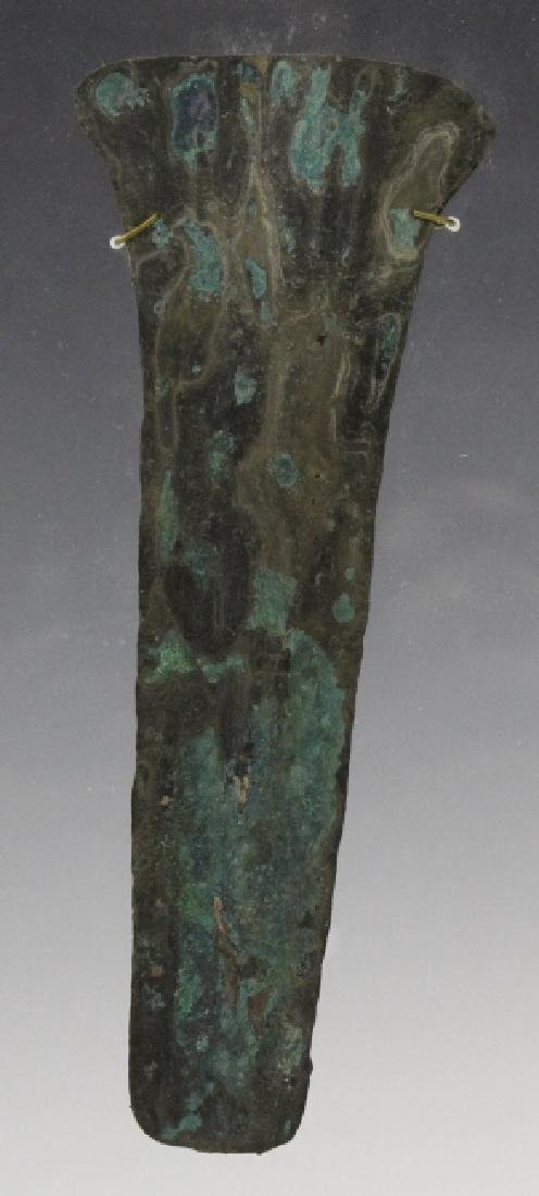 Ancient Egyptian Polychrome Razor Form Object