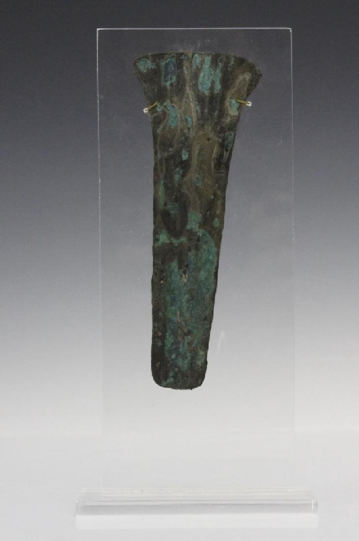 Ancient Egyptian Polychrome Razor Form Object - 2