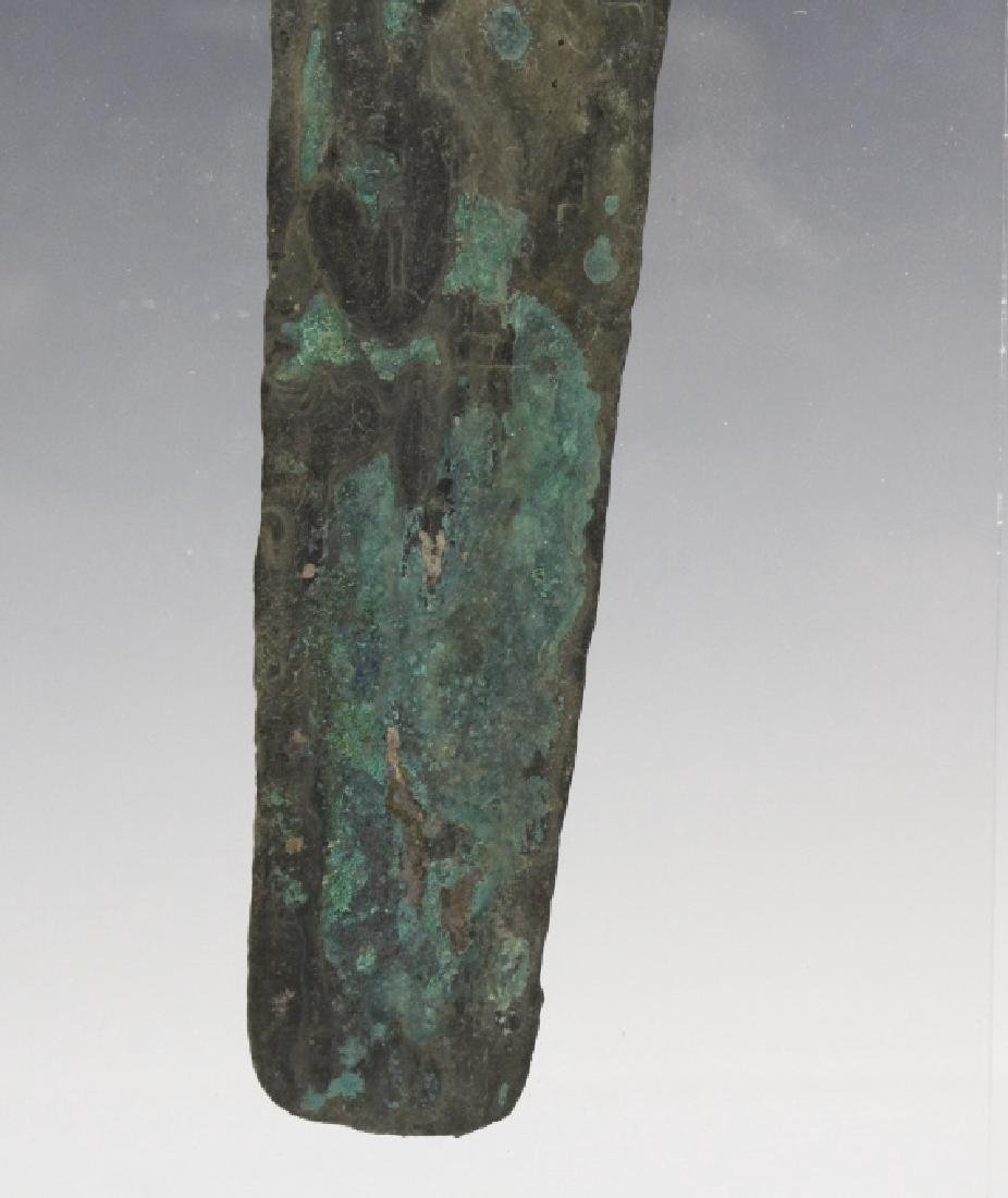 Ancient Egyptian Polychrome Razor Form Object - 5