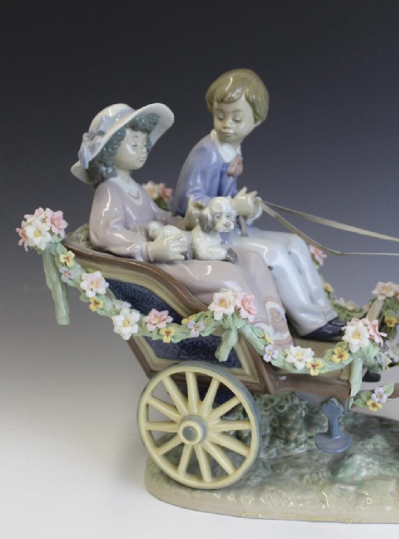 Lladro Spain Ride In The Park 5718 L/E Figurine - 2