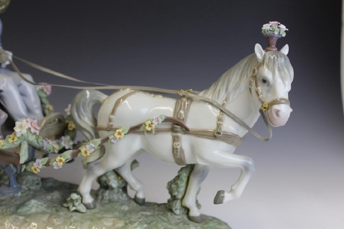 Lladro Spain Ride In The Park 5718 L/E Figurine - 3
