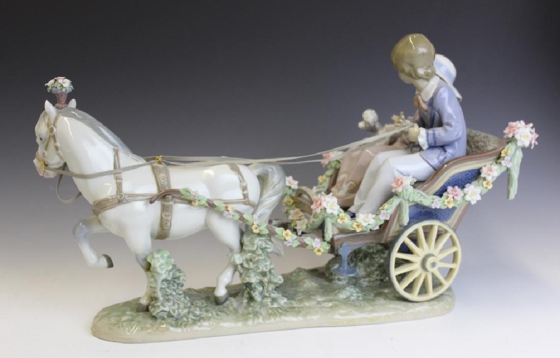 Lladro Spain Ride In The Park 5718 L/E Figurine - 4